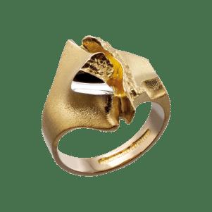 Lapponia, Design by Björn Weckström, Ring Geisir, 122025