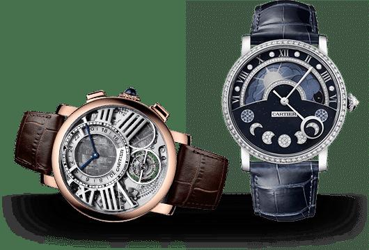 Rotonde de Cartier Uhren bei Juwelier Lorenz in Berlin-Friedenau