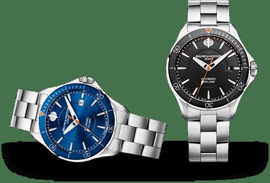 Baume & Mercier Clifton Uhren bei Juwelier Lorenz in Berlin-Firedenau