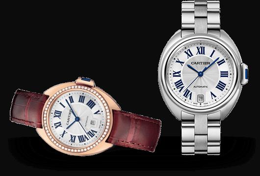 Clé de Cartier Uhren bei Juwelier Lorenz in Berlin-Friedenau