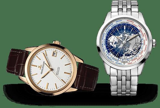 Jaeger-LeCoultre Geophysic Uhren bei Juwelier Lorenz in Berlin-Firedenau