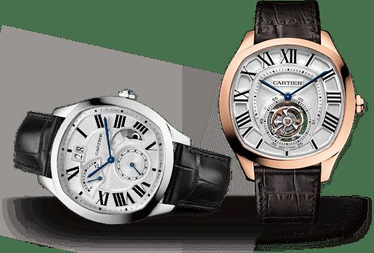 Drive de Cartier Uhren bei Juwelier Lorenz in Berlin-Friedenau