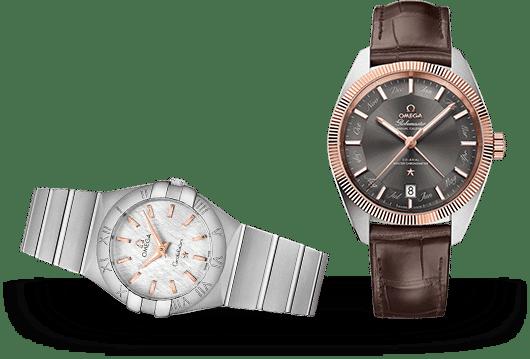 Omega Constellation Uhren bei Juwelier Lorenz in Berlin-Friedenau