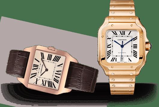 Santos de Cartier Uhren bei Juwelier Lorenz in Berlin-Friedenau
