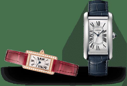 Cartier Tank Uhren bei Juwelier Lorenz in Berlin-Friedenau