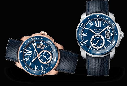 Calibre de Cartier Uhren bei Juwelier Lorenz in Berlin-Friedenau