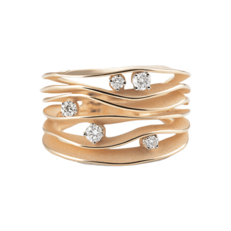 Annamaria Cammilli, Essential, Dune Ring Orange Gold, GAN0914J