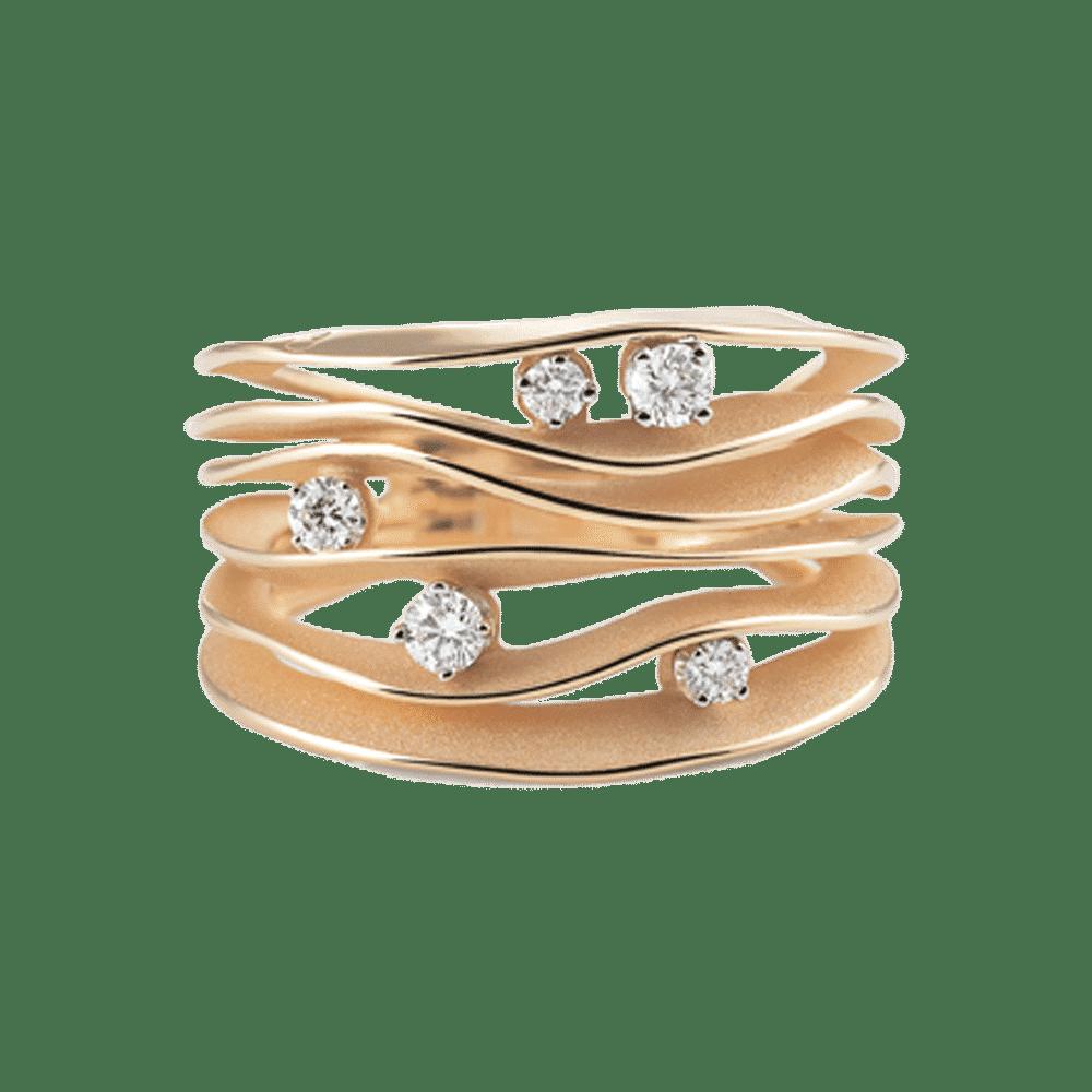 Annamaria Cammilli, Essential, Dune Ring Orange Gold, GAN0914J