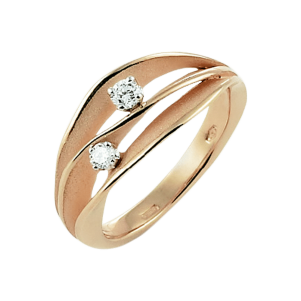 Annamaria Cammilli, Essential, Dune, Ring Orange Gold , GAN1941J