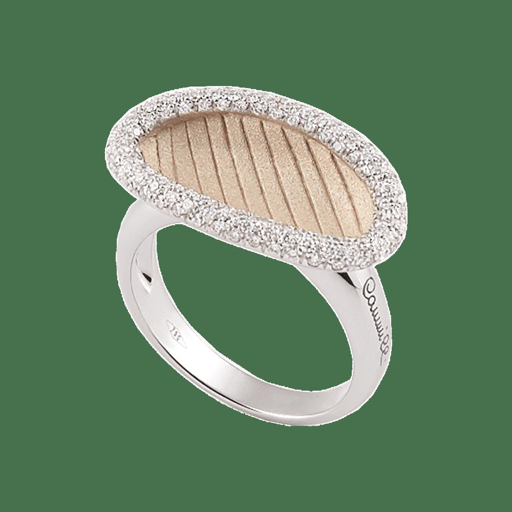 Annamaria Cammilli, Vison, Niwa, Ring White Gold, GAN2680N