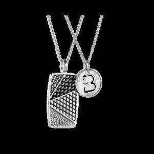 Baldessarini Halskette, Y2084N/90/00, Silber