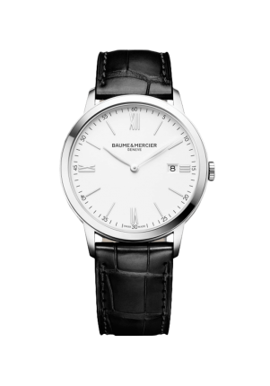 Baume & Mercier, Classima 10323 Herrenuhr, M0A10323, Edelstahl