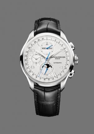 Baume & Mercier, Clifton 10278 Herren Chronograph, M0A10278, Edelstahl