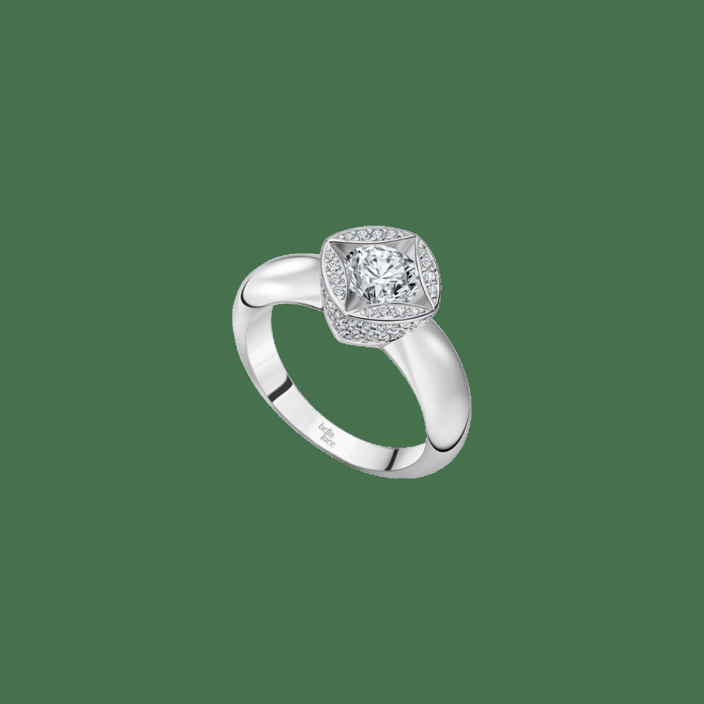 Bellaluce Ring, B105919, Weißgold, Brillanten