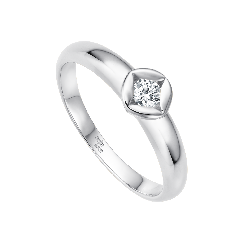 Bellaluce, Solitaire Ring Classic, EH000678