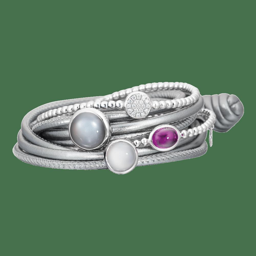 Capolavoro, The Colour Collection, Armbänder Dolcini, AB0000108.SILBER-MET.22, AB8B00222, AH8GRP02225, AB8GRP00228.INNEN.17, AH8MGH02147