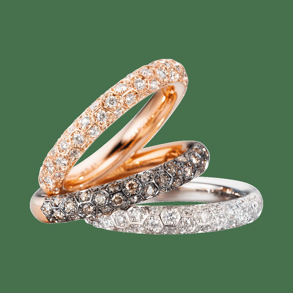 Capolavoro, The Diamond Collection, Ringe Fiore Magico, RI9BRW02667, RI9BHB02667, RI9BHB02667