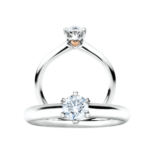 Capolavoro, The Romance Collection, Ring Diamante in Amore, RI8B05070.0.30TW/VS, RI8B05070.0.40TW/VS/GIA