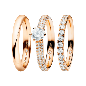 Capolavoro, The Romance Collelction, Ringe Diamante in Amore, RI9005004, RI9B05025.0.30TW/VS, RI9B05036