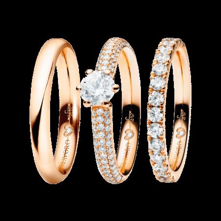 Capolavoro, The Romance Collelction, Ringe Diamante in Amore, RI9005004, RI9B05025.0.30TW/VS, RI9B05036