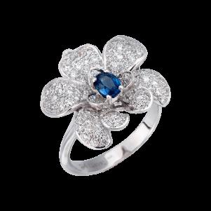 Carrera y Carrera, Seda Imperial, Orquídeas Mini Ring, DA13713-020402