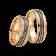 Fischer, Carbon küsst Gold, Trauringe, 23-01250-070
