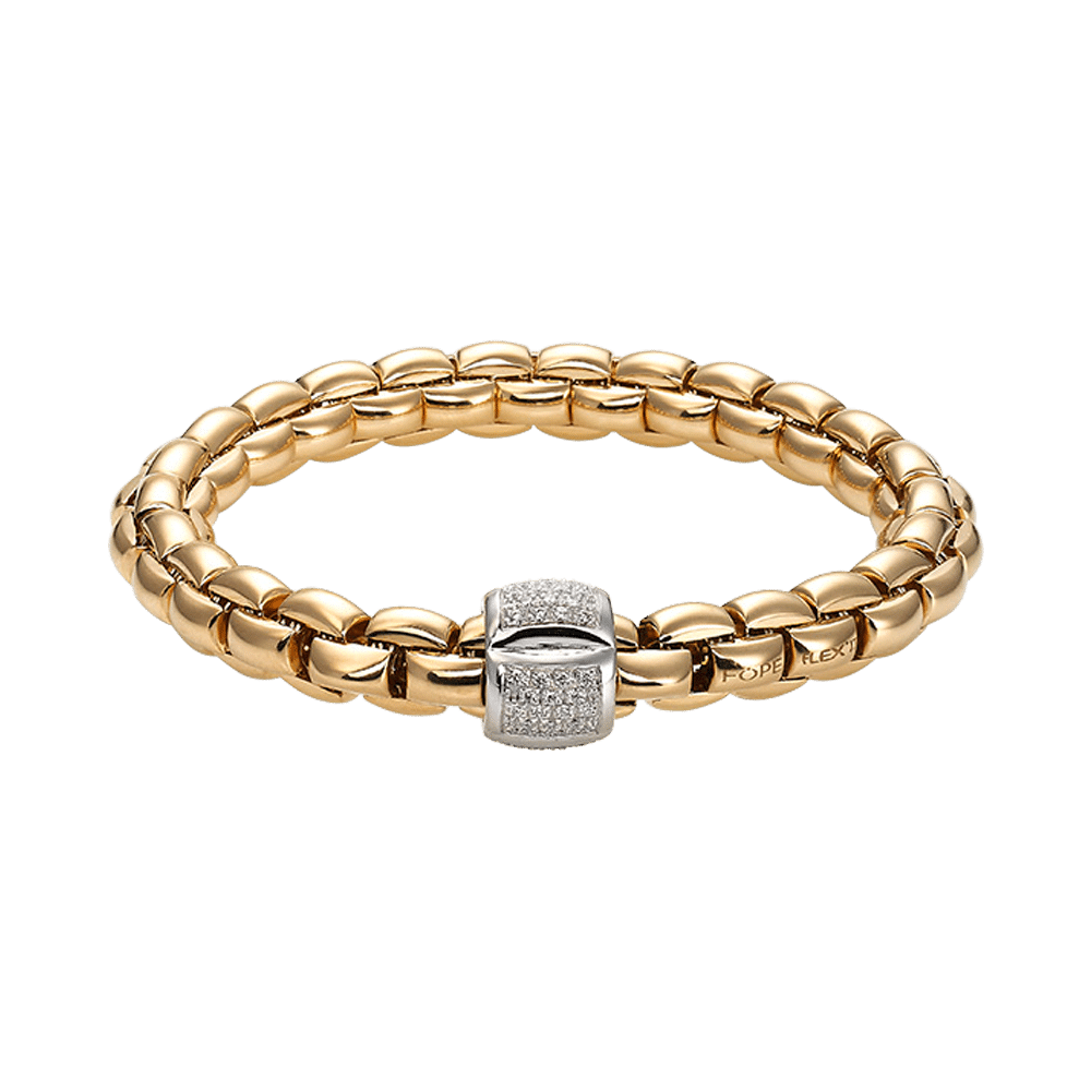 Fope, Eka Collection, Armband, 602B PAVE Y