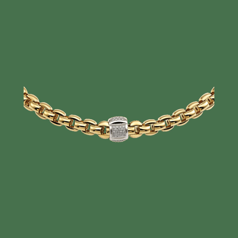 Fope, Eka Collection, Collier, Weißgold, Gelbgold, Diamanten