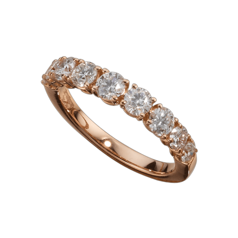 Leo Wittwer, Ring, Roségold, Brillanten,