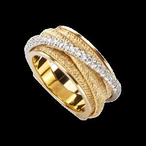 Marco Bicego, Ring, Gelbgold, Brillanten, AG318-B