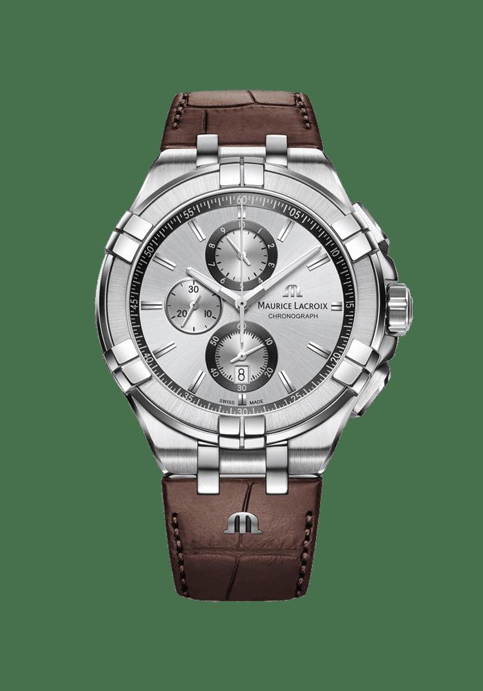 Maurice Lacroix, Aikon, Aikon Chronograph, AI1018-SS001-130-1