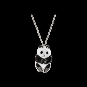 Meissen Couture, Anhänger Halbrelief Panda, MPJ20AC2603