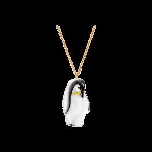 Meissen Couture, Anhänger Halbrelief Pinguin, MPJ20AC2509