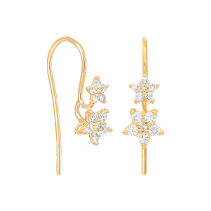 Ole Lynggaard, Shooting Stars, Earrings, A2854-401