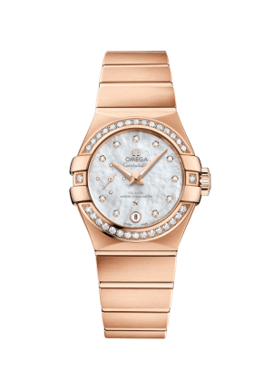 Omega, Constellation, Constellation, Omega Co-Axial Master Chronometer Small Seconds 27 mm, 127.55.27.20.55.001