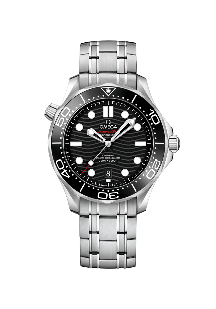 Omega, Seamaster, Diver 300M, Omega Co-Axial Master Chronometer 42 mm, 210.30.42.20.01.001