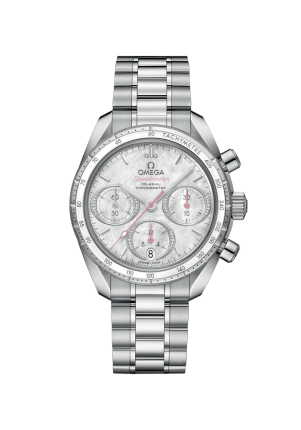 Omega, Speedmaster, Speedmaster 38, Co-Axial Chronograph 38 mm, 324.30.38.50.55.001
