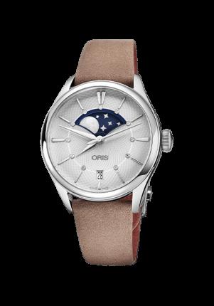 Oris Artelier Grande Lune Date, 01 763 7723 4051-07 5 18 33FC