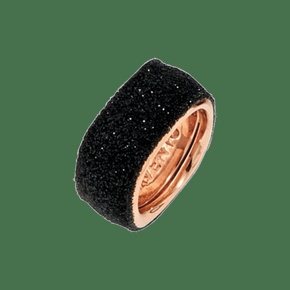 Pesavento Ring  Polvore di sognie fogli Silber roségoldplattiert Emaillestaub