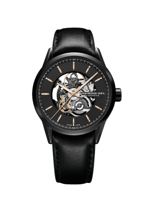 Raymond Weil, Freelancer, Freelancer Automatic Skeleton, 2715-BKC-20021