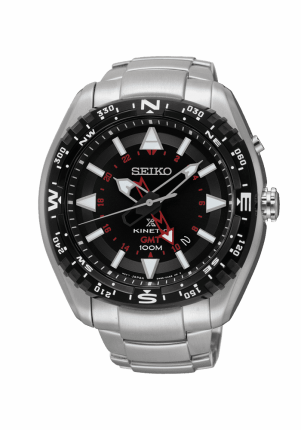 Seiko, Prospex, Kinetic GMT, SUN049P1
