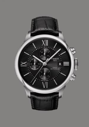 Tissot, T-Classic, Chemin des Tourelles Automatic Chronograph, T099.427.16.058.00