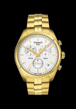 Tissot, T-Classic, PR 100 Chronograph, T101.417.33.031.00
