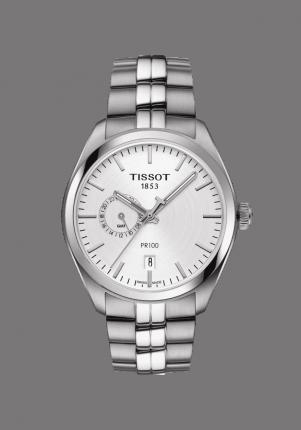 Tissot, T-Classic, PR 100 Dual Time, T101.452.11.031.00