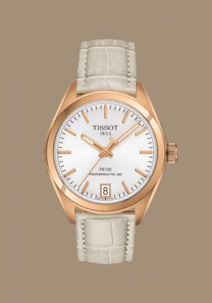 Tissot, T-Classic, PR 100 Powermatic 80 Lady, T101.207.36.031.00