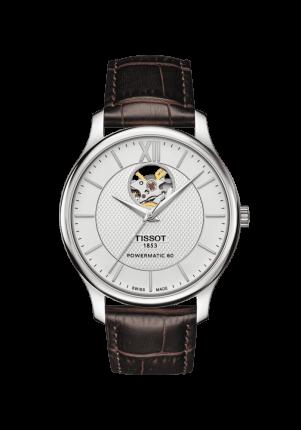 Tissot, T-Classic, Tradition Powermatic 80 Open Heart, T063.907.16.038.00