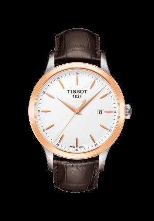 Tissot, T-Gold, Classic Gent 18K Gold, T912.410.46.011.00