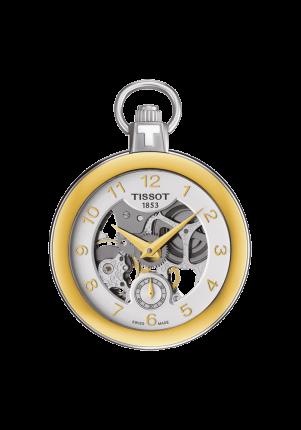 Tissot, T-Pocket, Pocket Mechanical Skeleton, T853.405.29.412.00