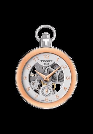 Tissot, T-Pocket, Pocket Mechanical Skeleton, T853.405.29.412.01