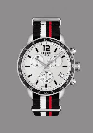 Tissot, T-Sport, Quickster NATO Chronograph, T095.417.17.037.01